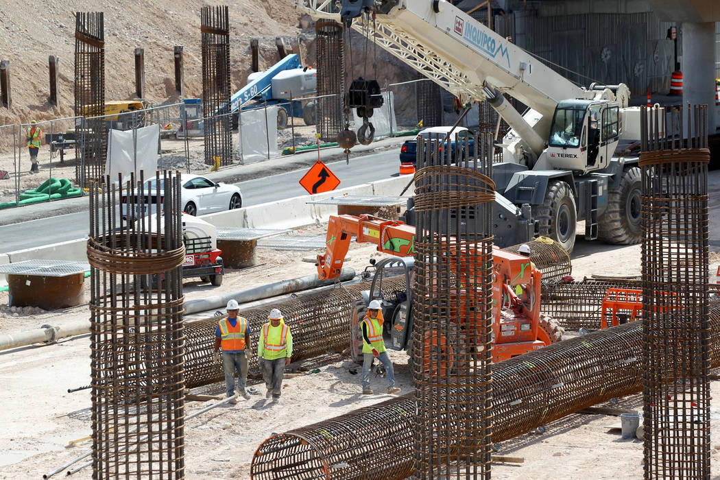 Construction jobs bounce back in Las Vegas Valley | Las Vegas Review