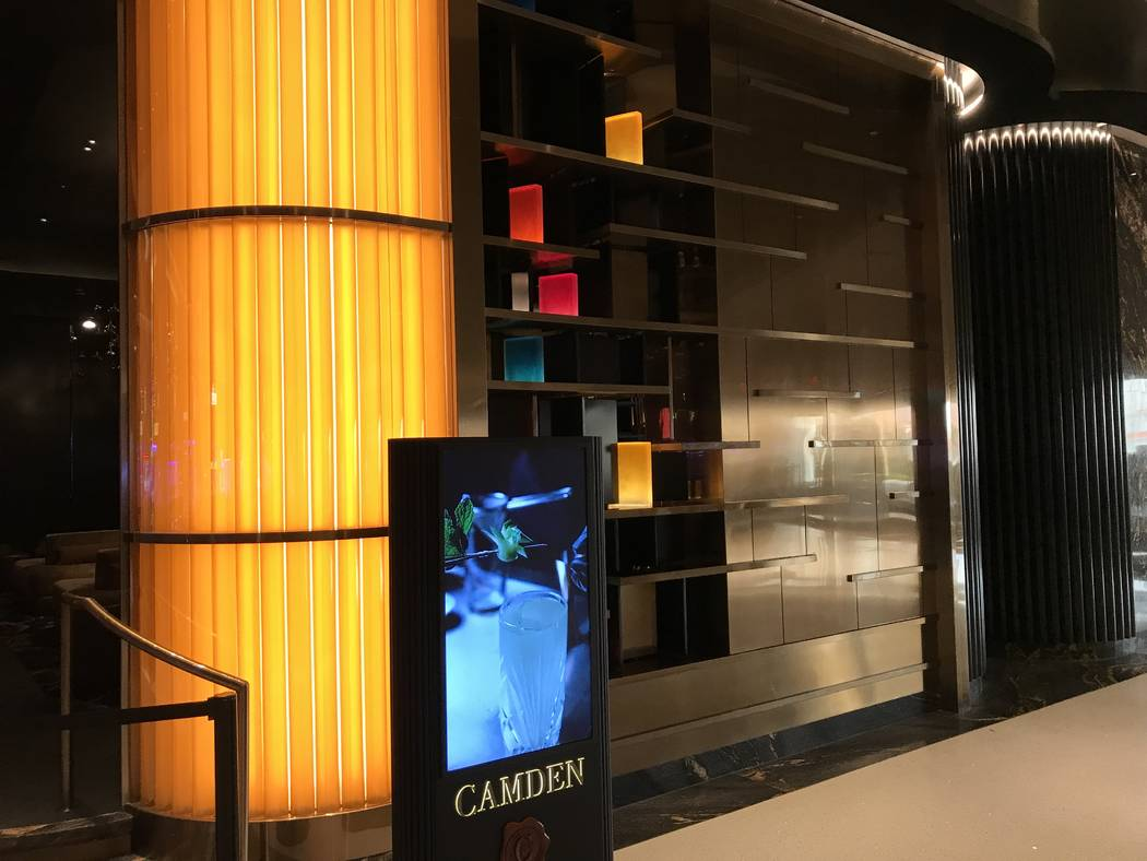 Camden at the Palms, which will open May 18. (Al Mancini Las Vegas Review-Journal)