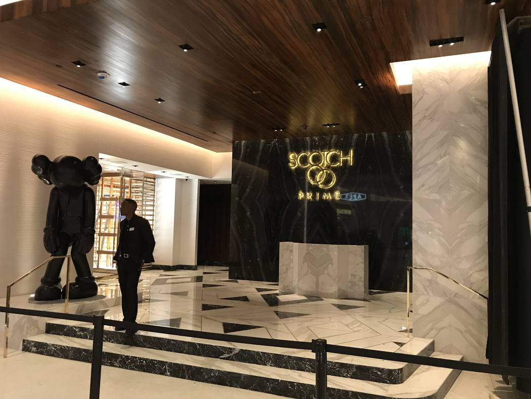 Scotch 80 Prime will open in the space that formerly housed N9NE Steakhouse. (Al Mancini Las Vegas Review-Journal)