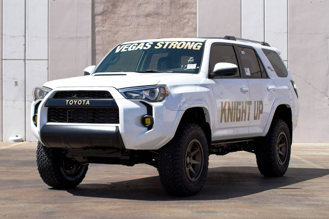 Findlay Findlay Toyota and Findlay Customs teamed up to customize this 2018 Toyota 4Runner.