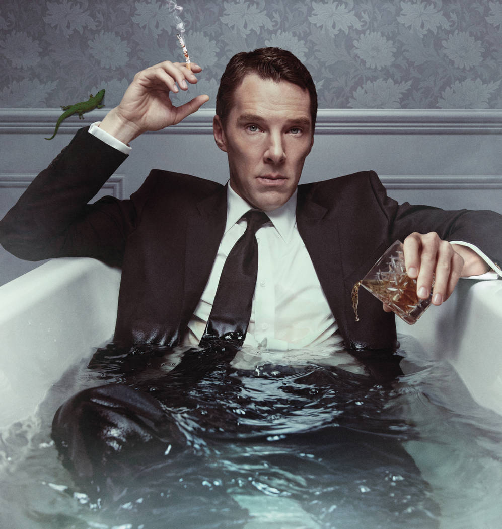 Benedict Cumberbatch as Patrick Melrose in PATRICK MELROSE Photo: SHOWTIME