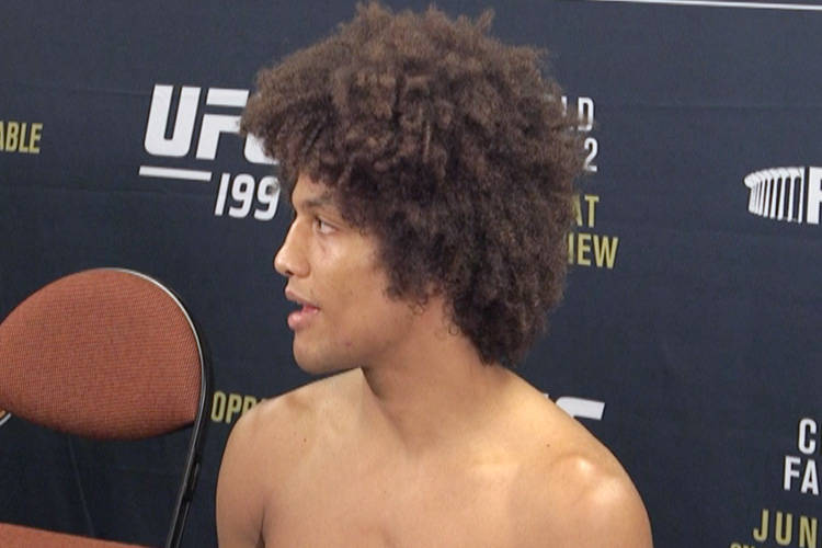 UFC Featherweight Alex Caceres (Heidi Fang/Las Vegas Review-Journal)