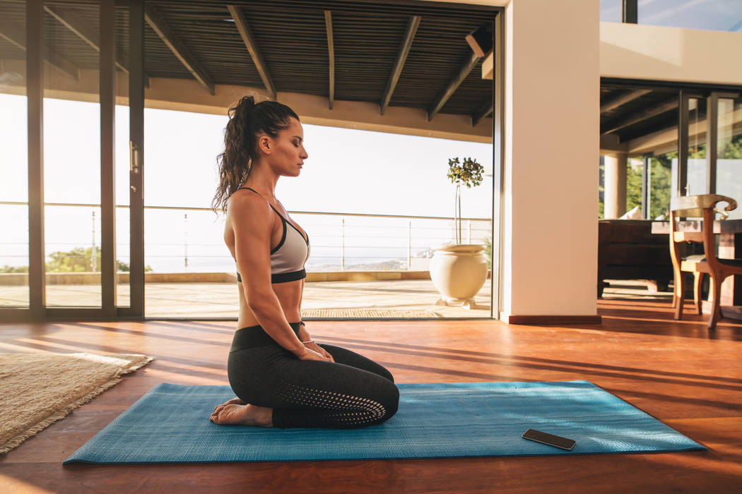 Thinkstock An outdoor space such as courtyard, patio, balcony or garden also can used for meditation.