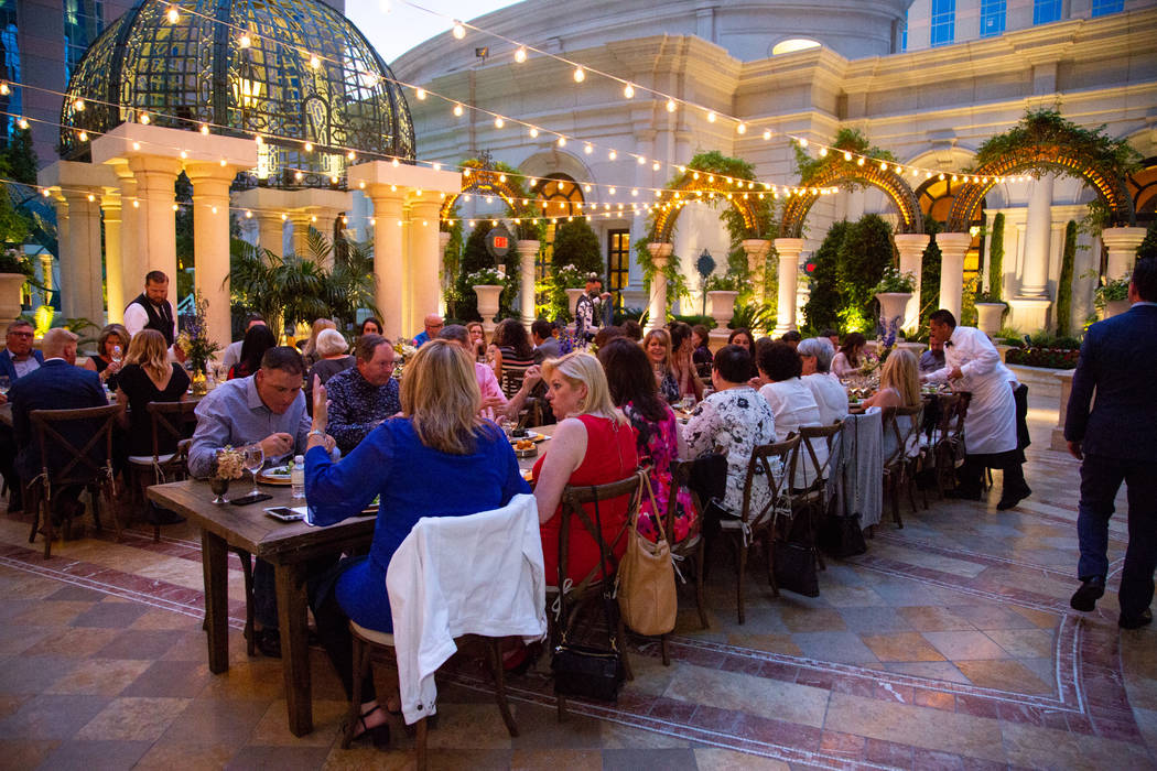 The Chefs of Thomas Keller present a French Soiree at Bouchon. The Venetian Las Vegas