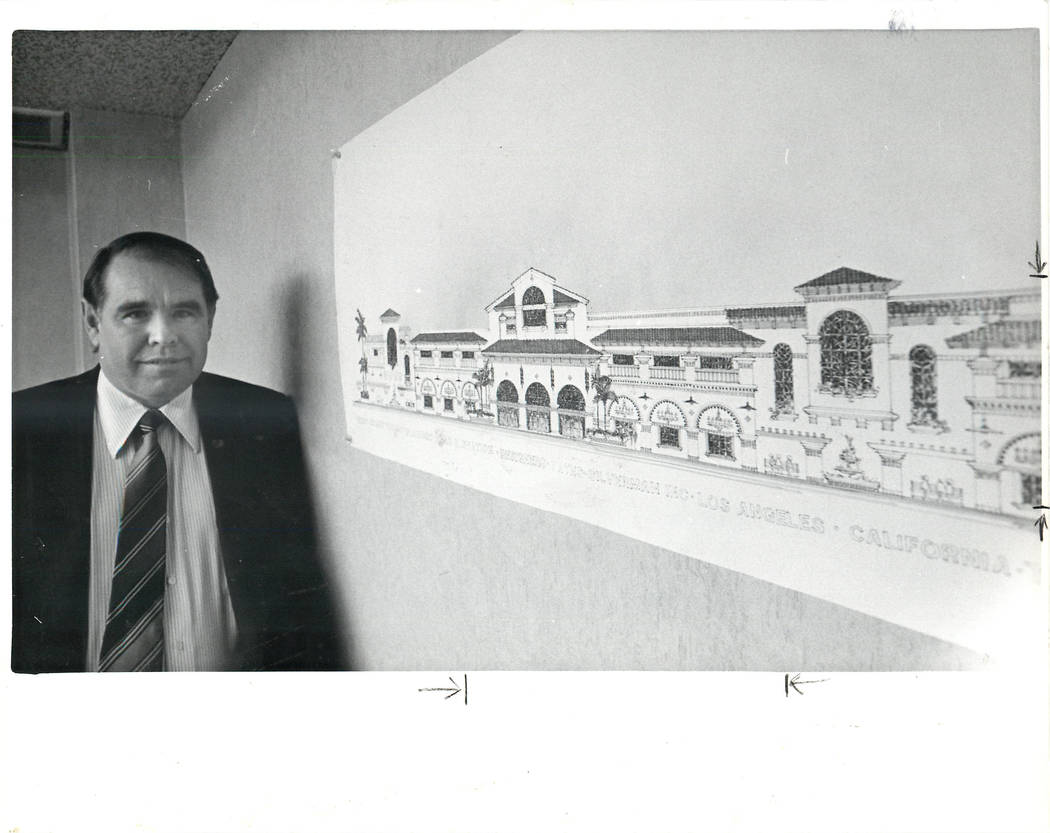 Michael Gaughan, seen in 1985 (Las Vegas Review-Journal)