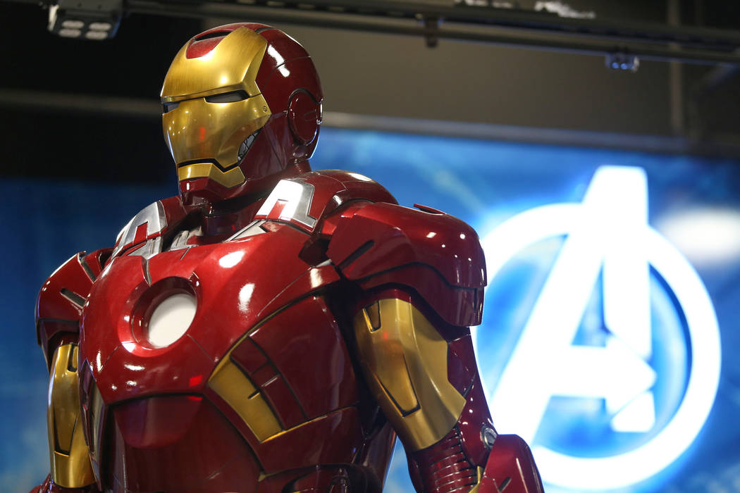 'Iron Man' suit disappears from prop facility in Los Angeles