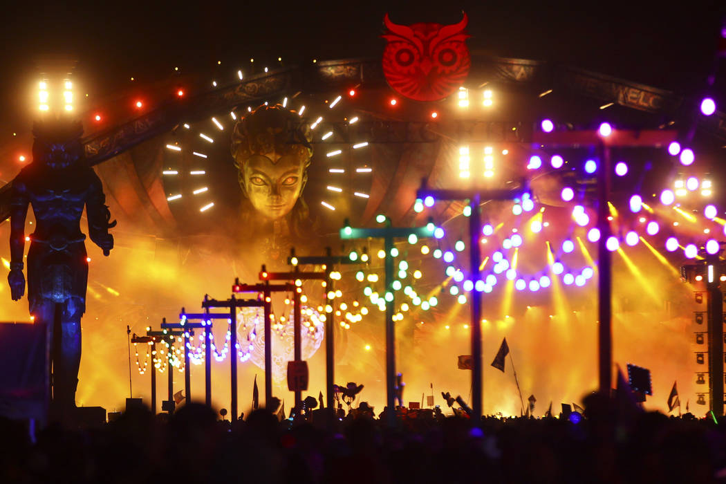 Your guide to EDC's 8 stages and over 200 acts | Las Vegas