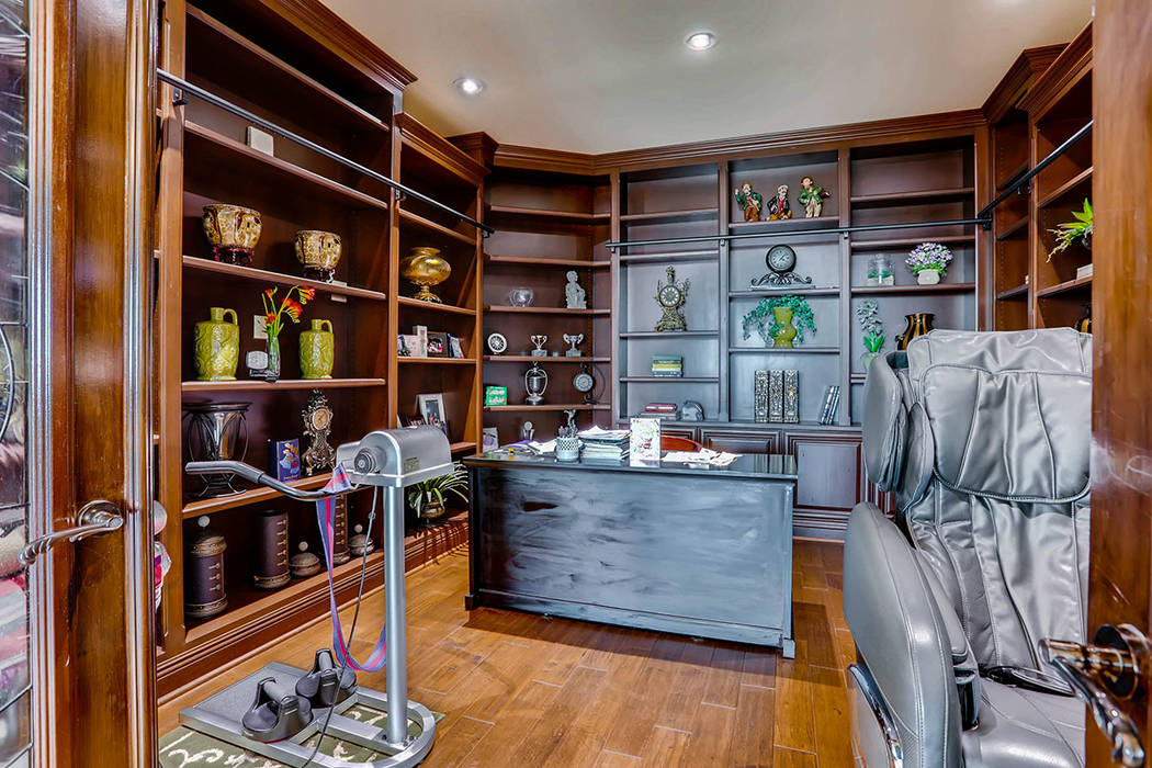 A room off the living area has been made into an office. (Char Luxury Real Estate)