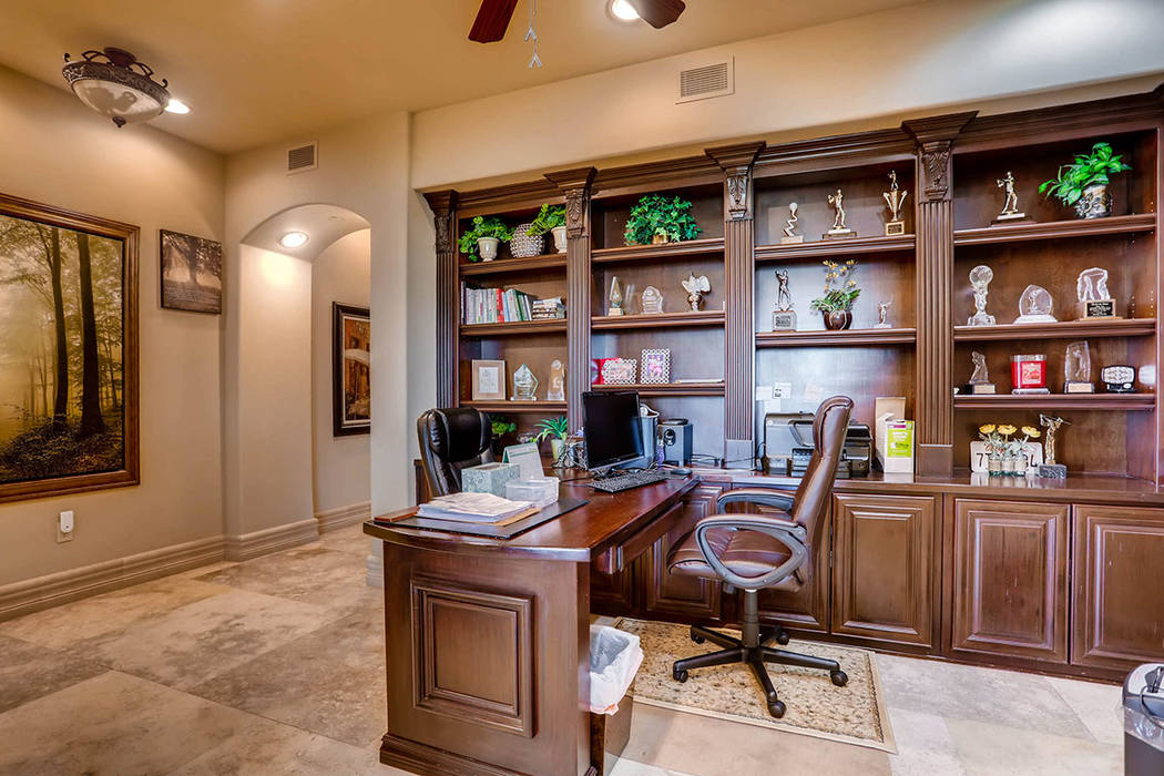 A nook at the hallway has been converted into an office. (Char Luxury Real Estate)