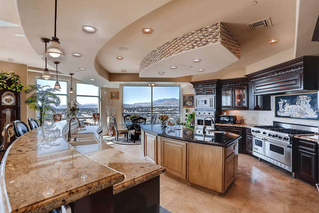 The kitchen. (Char Luxury Real Estate)