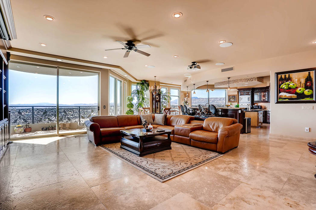 The living room. (Char Luxury Real Estate)