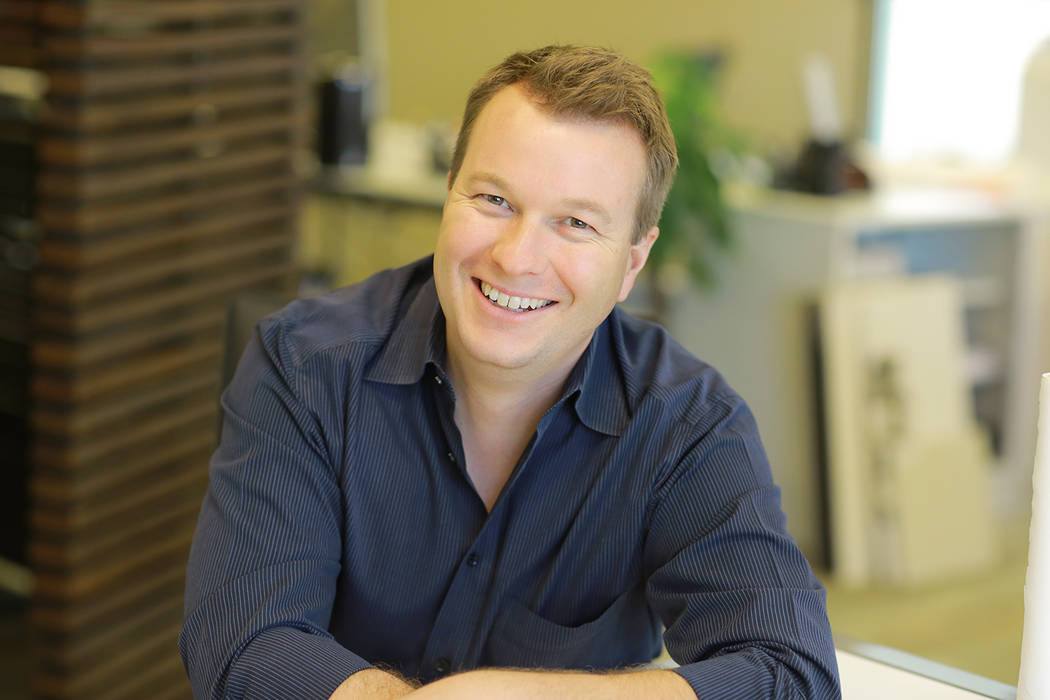 Michael Gardner, principal of Henderson-based studio g ARCHITECTURE