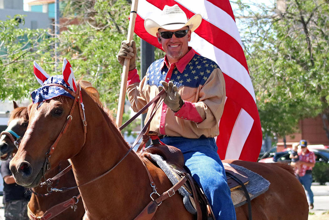 Sin City Riders during the Helldorado Days Parade in downtown Las Vegas, Saturday, May 13, 2017. Gabriella Benavidez Las Vegas Review-Journal @latina_ish