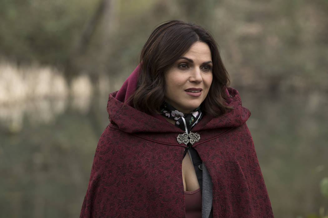 "ONCE UPON A TIME - ""Homecoming"" - As the residents of Hyperion Heights celebrate the breaking of the curse, Henry is visited by Wish Rumple, who's hatched an evil plan to use Ella and Lucy to keep ..."