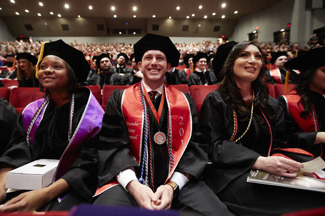 Boyd School of Law commencement ceremony on May 11, 2018. (Josh Hawkins/UNLV Creative Services)