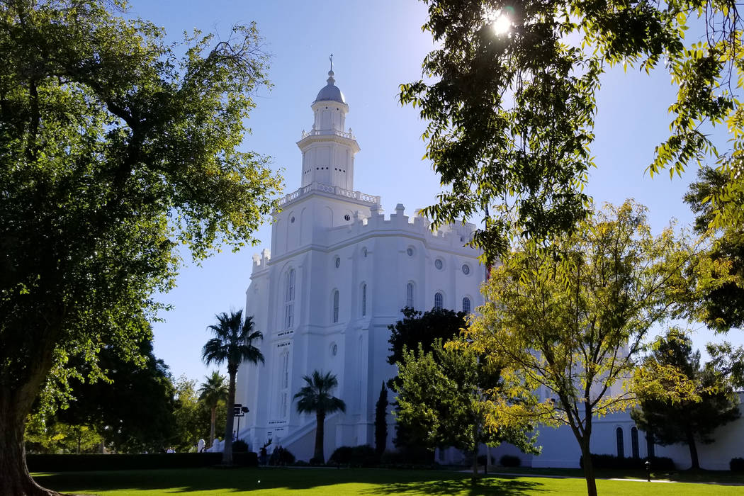 Police arrest intruder who vandalzied LDS Church's St. George Temple on Saturday