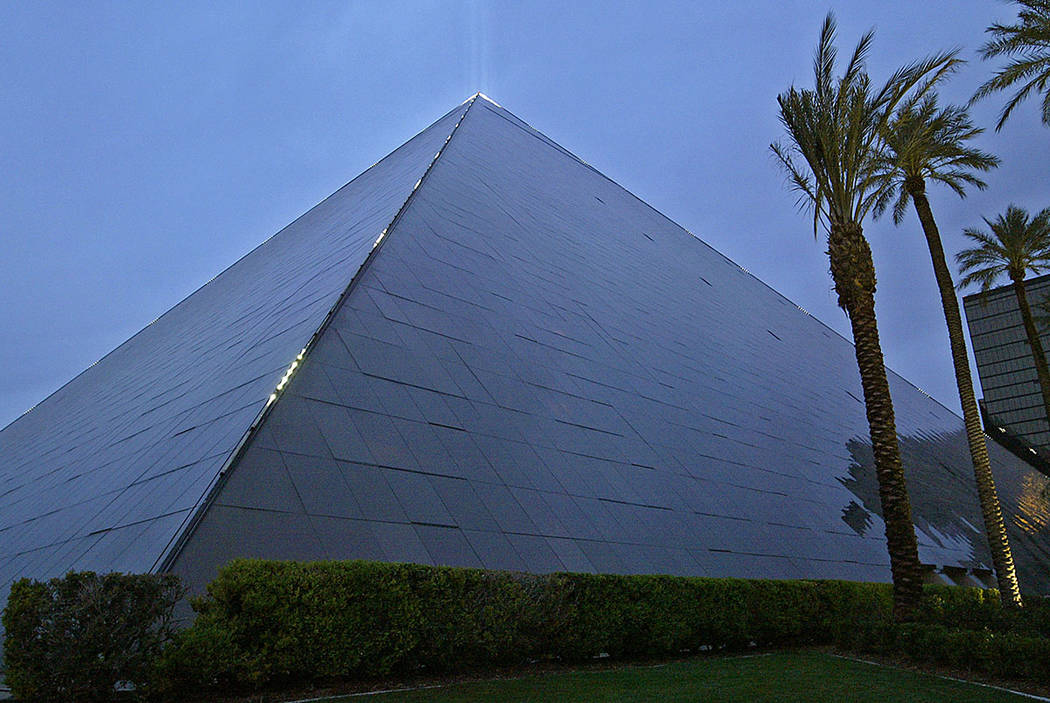 The Luxor Resort On Las Vegas Strip Review Journal