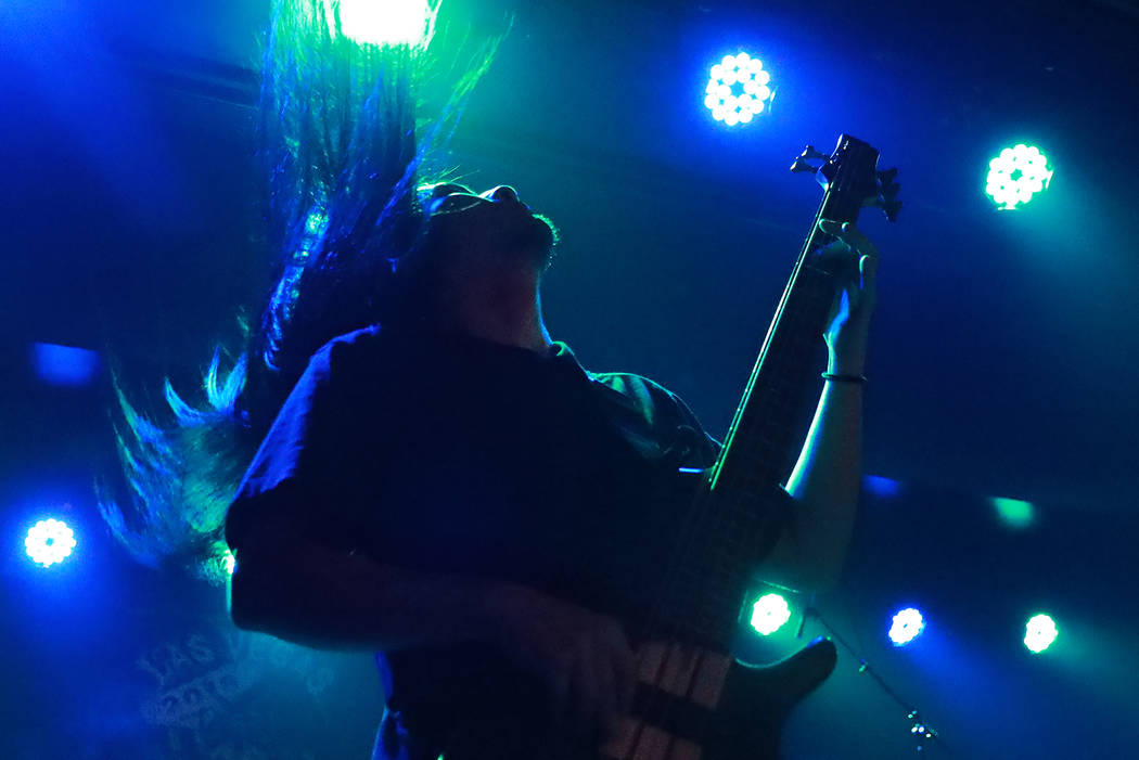 Vomit Remnants performs during the Las Vegas Death Fest at Fremont Country Club in Las Vegas on Saturday, May 12, 2018. The death metal festival featured 48 acts over three days. Andrea Cornejo La ...