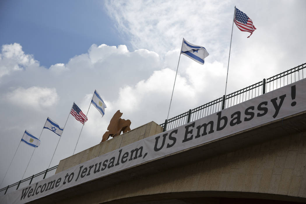 Israel Celebrates As Us Embassy Prepares To Open In Jerusalem Las