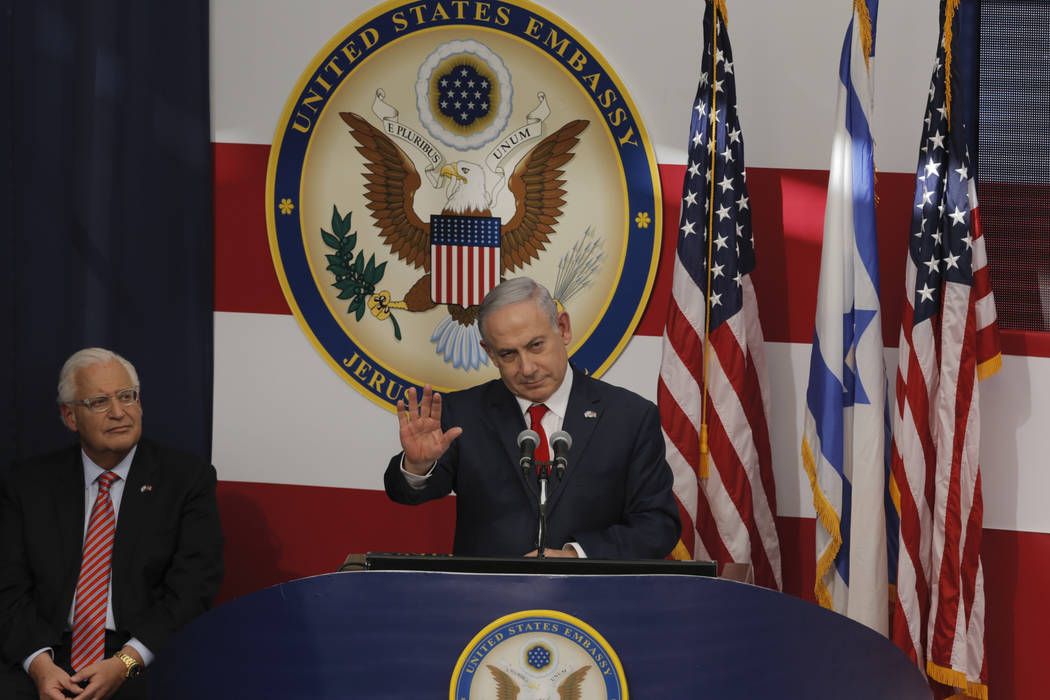 Image result for PHOTOS OF OPENING DAY CEREMONIES AT US EMBASSY IN JERUSALEM