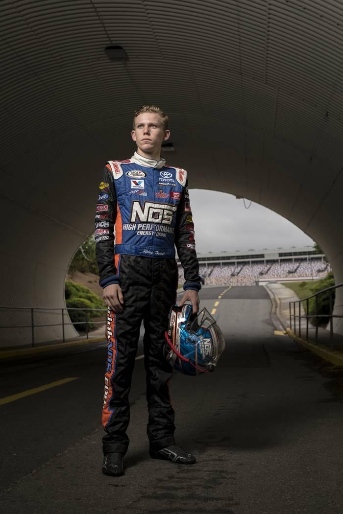 Riley Herbst, NASCAR NEXT 2017. (Barry Cantrell/Short Track Spotlight)