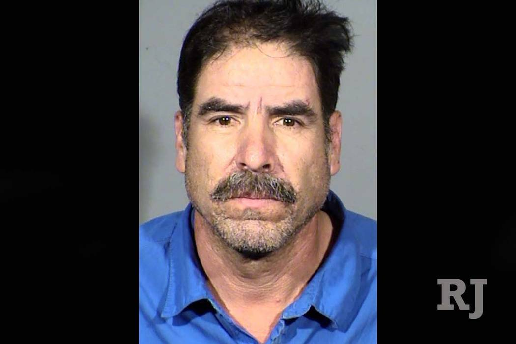 Juan Valtierrez was arrested on suspicion of driving under the influence and reckless driving in a fatal crash, Sunday, May 13, 2018. (Las Vegas Metropolitan Police Department)