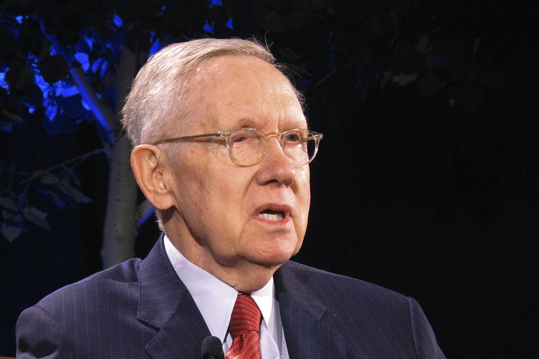 Former Nevada Sen. Harry Reid treated for pancreatic cancer