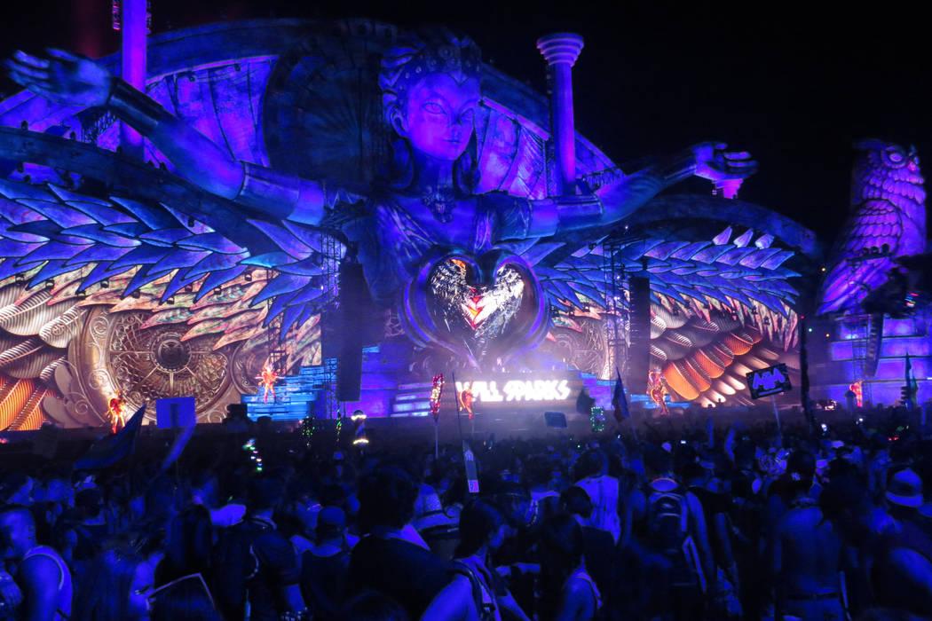 DJ Will Sparks at EDC Las Vegas.| Foto Anthony Avellaneda/ El Tiempo.