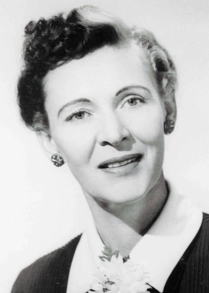 Florence J. Murphy will be inducted into the Nevada Aerospace Hall of Fame (NVAHOF) on Friday, October 14, 2011. (NVAHOF)