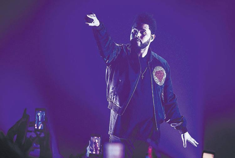 The Weeknd performs at The Chelsea at The Cosmopolitan of Las Vegas on December 30, 2016. (Erik Kabik Photography/erikkabik.com)
