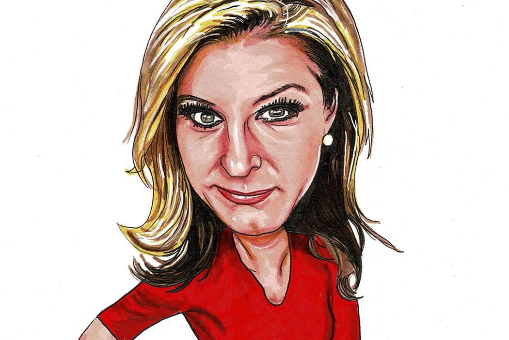 News Anchor Tricia Kean Makes Mark In Las Vegas Las Vegas Review