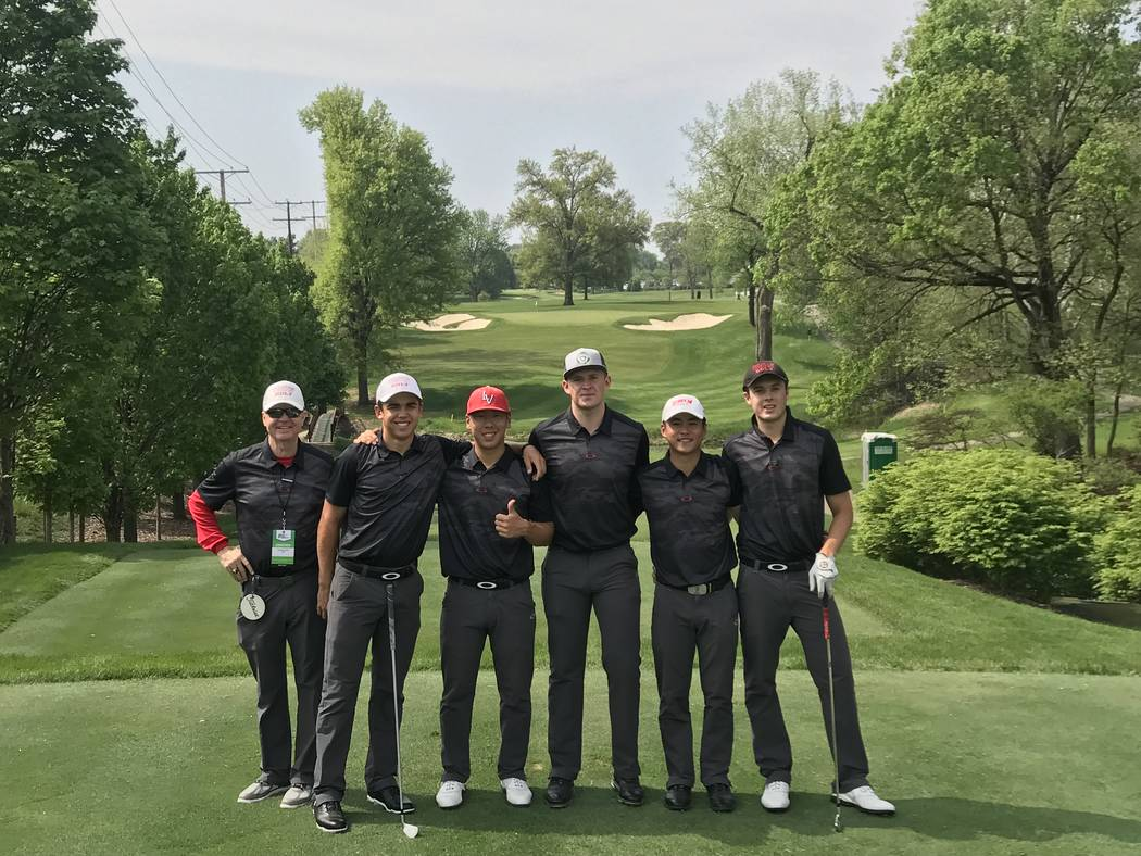 Cyclone men's golf tied for lead after second day at Stockton Regional
