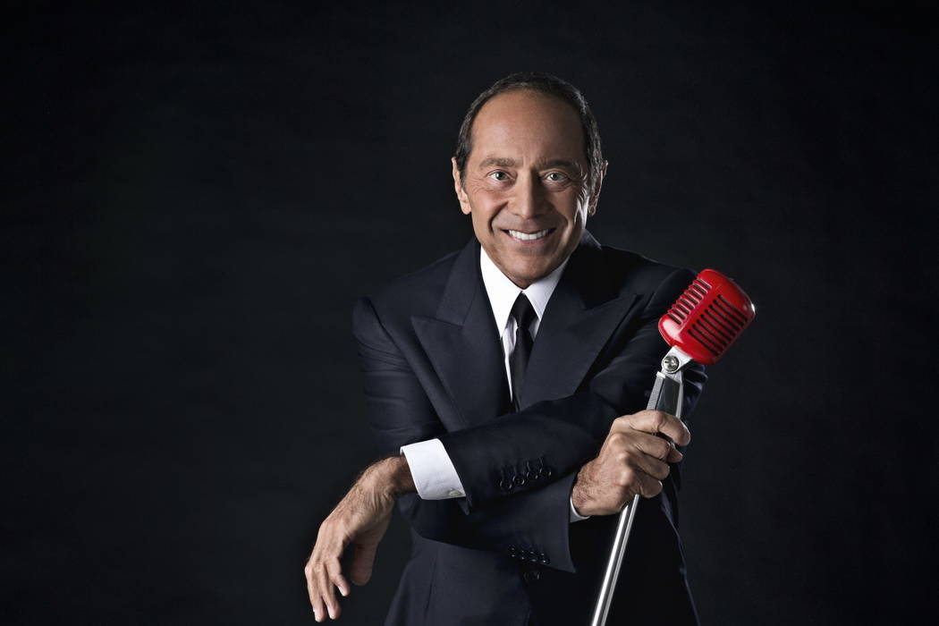 Paul Anka performs five shows Friday through May 25 at Encore Theater at Wynn Las Vegas. (Paul Anka Productions)