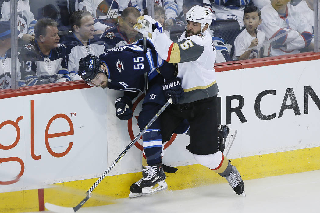 Vegas Golden Knights vs. Winnipeg Jets - 5/18/18 NHL Pick, Odds, and Prediction