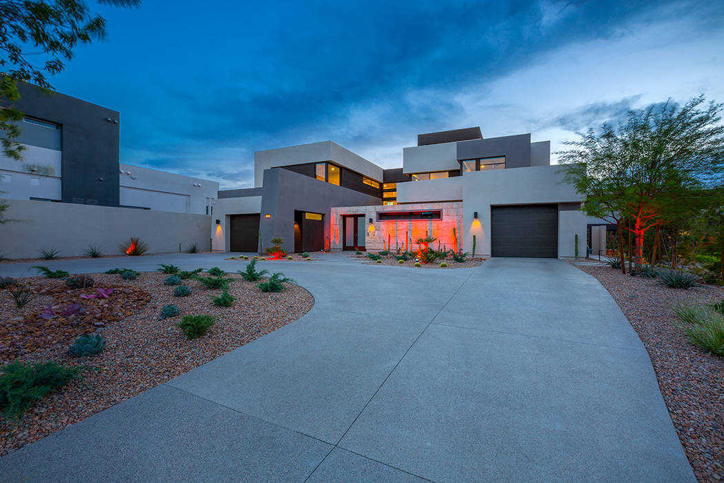 This Blue Heron home in Seven Hills has a special LED lighting system. (Red Luxury Real Estate)