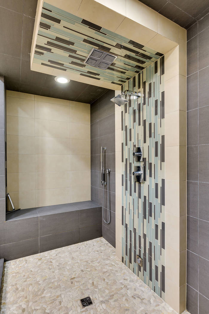 The master shower. (The Red Luxury Real Estate)