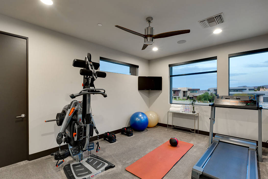 The gym. (The Red Luxury Real Estate)