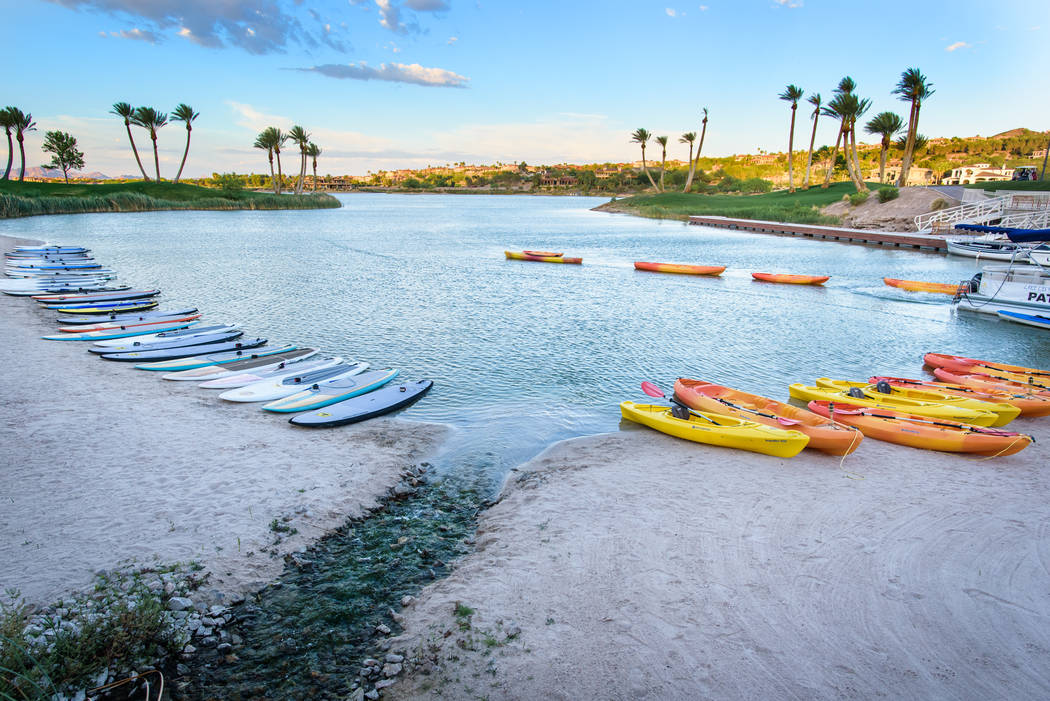 Water sports is a big part of Lake Las Vegas' Memorial Day weekend celebrations. (Lake Las Vegas)