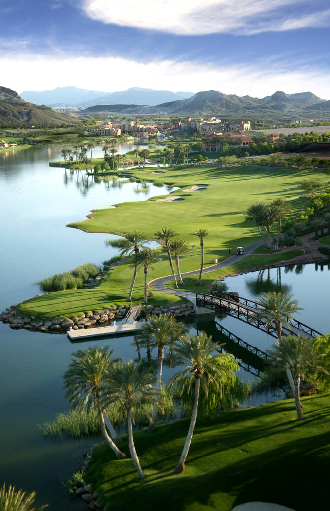 Lake Las Vegas in Henderson will host Memorial Day weekend activities. (Lake Las Vegas)