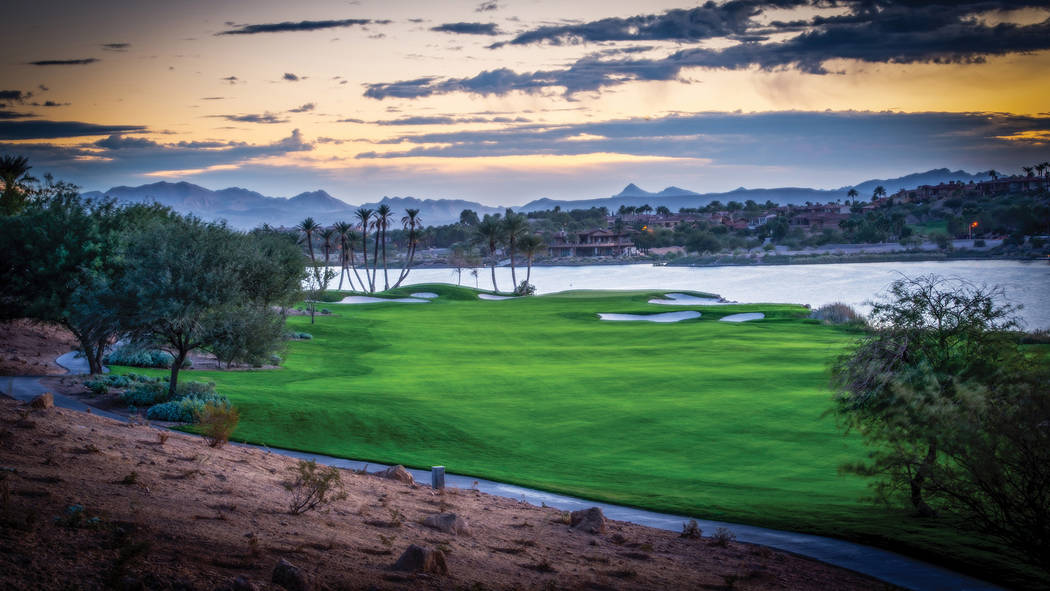 The golf course is a central element in Lake Las Vegas, a Henderson master-planned community. (Lake Las Vegas)