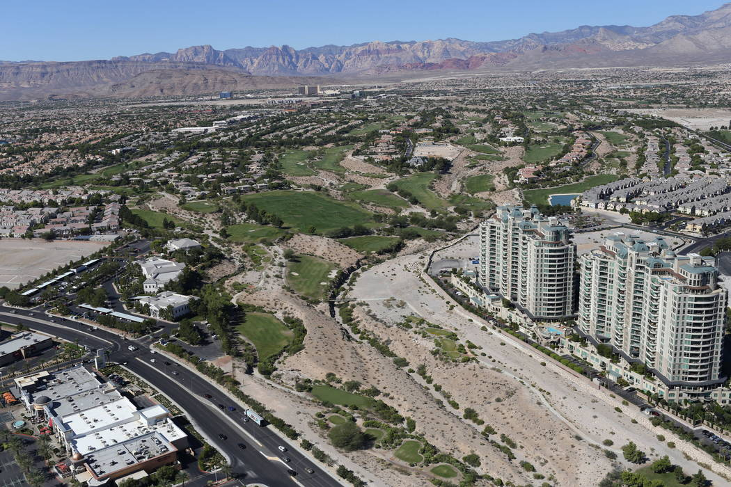 Badlands Golf Club in Las Vegas is seen on Monday, Sept. 26, 2016. Brett Le Blanc/Las Vegas Review-Journal Follow @bleblancphoto