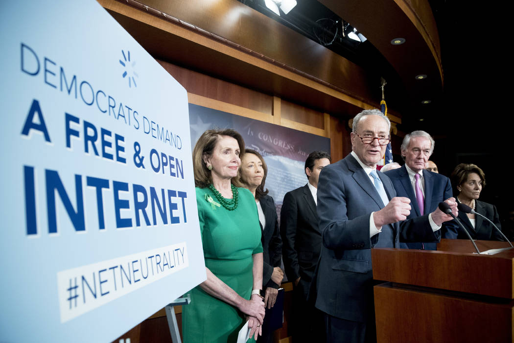Senate votes to save net neutrality rules