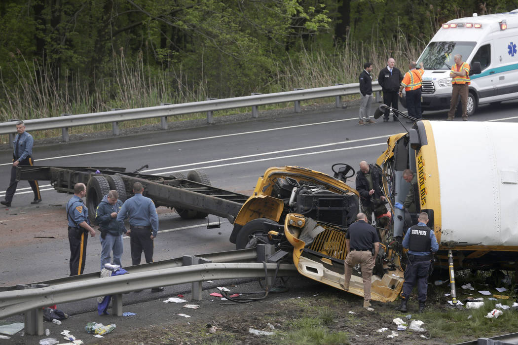 'Multiple' deaths in U.S. school bus crash