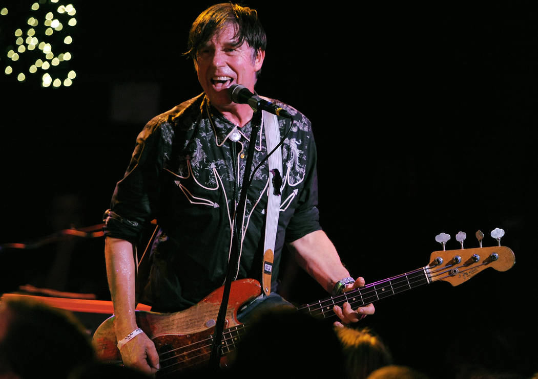 John Doe of the band X performs at the Sunset Strip Music Festival on Friday, Aug. 17, 2012, at The Roxy in West Hollywood, Calif. (Photo by Chris Pizzello/Invision/AP)