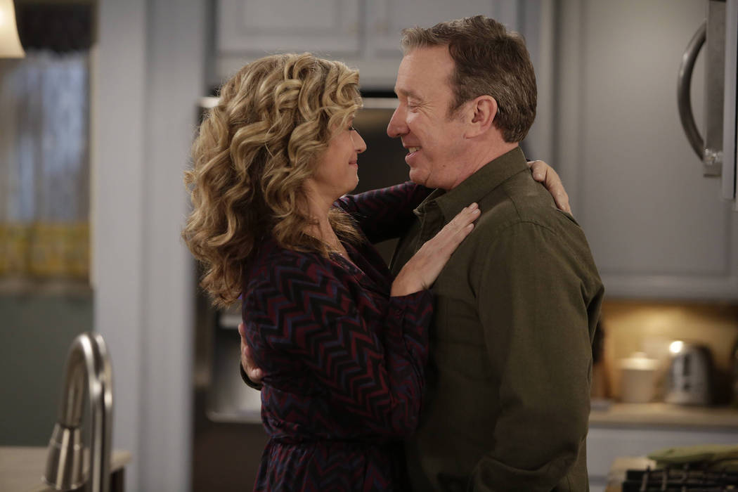 LAST MAN STANDING: L-R: Nancy Travis and Tim Allen in LAST MAN STANDING premiering Fridays 8:00-8:30 PM ET/PT this fall on FOX. ©2018 Fox Broadcasting Co. Cr: FOX