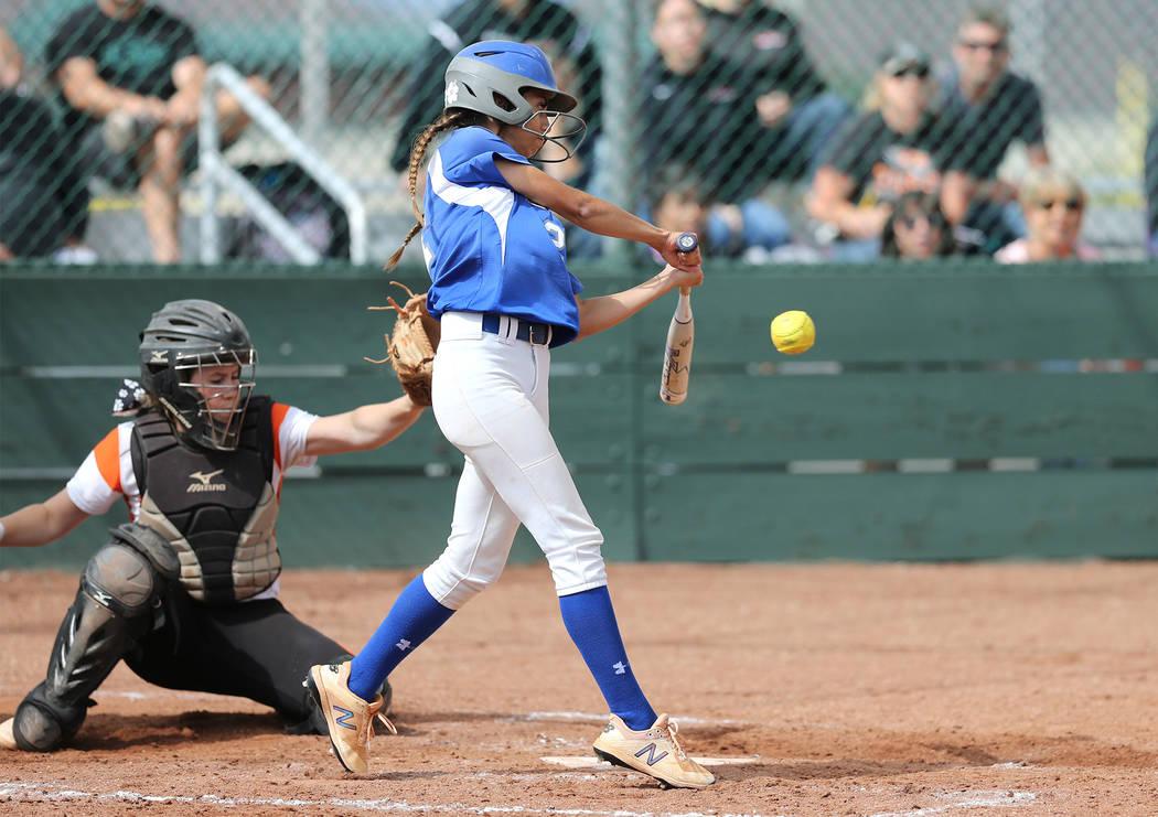 Basic, Shadow Ridge lose in state softball tournament – Las Vegas ...