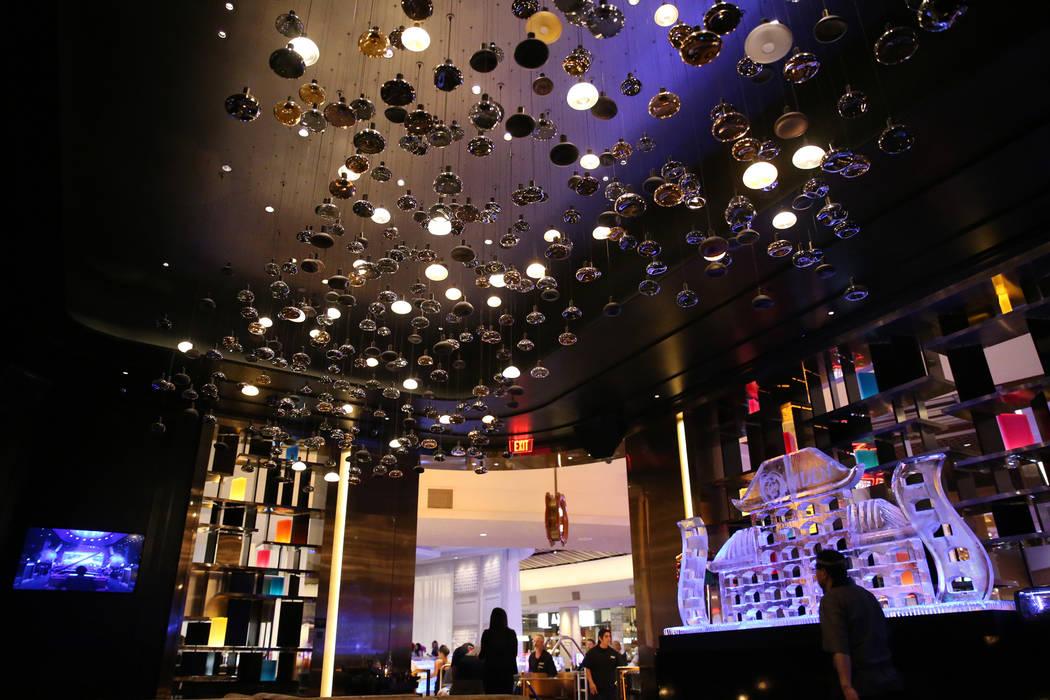 A bar inside the renovated Palms hotel-casino in Las Vegas, Thursday, May 17, 2018. Erik Verduzco Las Vegas Review-Journal @Erik_Verduzco