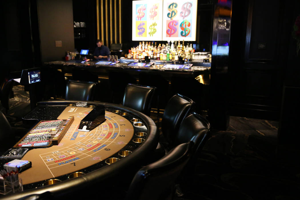 The high-limit table hames inside the renovated Palms hotel-casino in Las Vegas, Thursday, May 17, 2018. Erik Verduzco Las Vegas Review-Journal @Erik_Verduzco