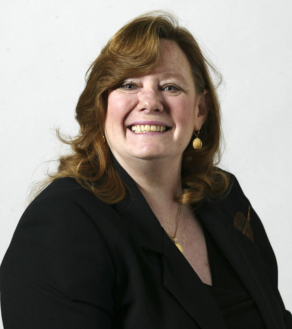 Assemblywoman Maggie Carlton, (Ralph Fountain/Las Vegas Review-Journal)