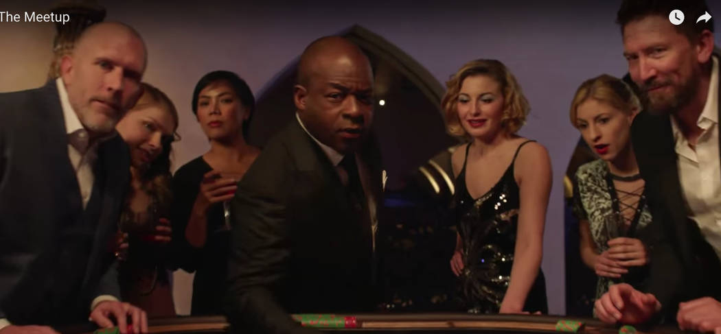 A new ad by the Las Vegas Convention and Visitors Authority features a business traveler in Las Vegas who decides to make his trip more interesting by transforming himself into a mysterious smooth ...